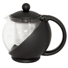 Service Ideas TB600CC Glass Lined Tea Ball with Removable Basket