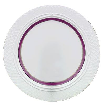"Homer Laughlin 3371684 Amethyst 9"" Plate - 24 / CS"