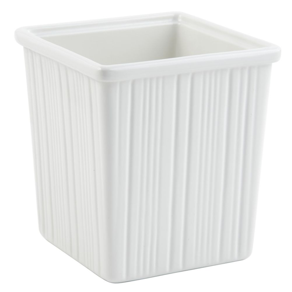 Bon Chef 9504 WHITE Sandstone 3 Qt. Space Saver Dressing Container
