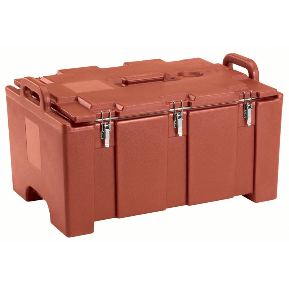 Cambro 100MPC402 Camcarrier® Brick Red Insulated Food Pan Carrier