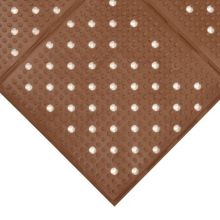 Notrax 411-565 Multi-Mat II® 3' x 4' Brown Floor Mat