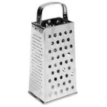 Johnson-Rose 7344 4-Sided Stainless Steel All Purpose Grater