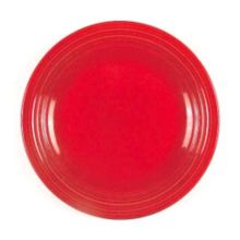 "Homer Laughlin 0749326 Fiesta Scarlet 9"" Plate - 12 / CS"