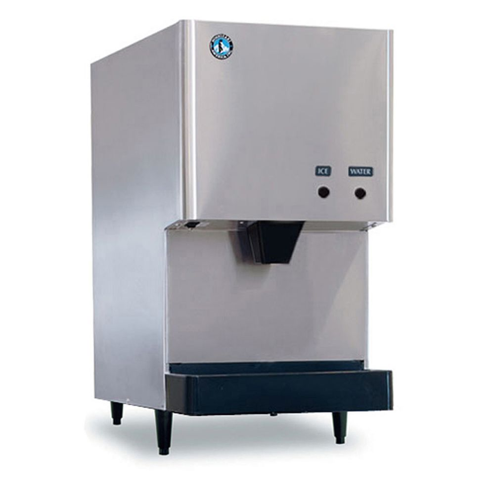 Hoshizaki DCM-270BAH S/S 282 Lb. Cubelet Style Ice Maker and Dispenser