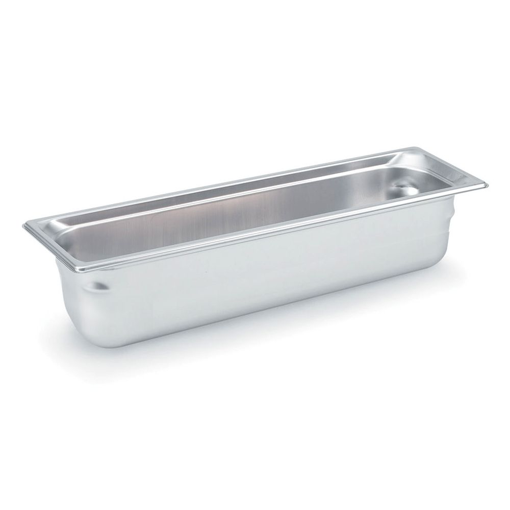 "Vollrath 90562 Super Pan 3 S/S Half-Long Size x 6"" D Food Pan"