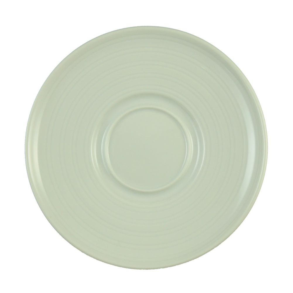 "Vertex® China CB-2R Crystal Bay 6"" Saucer - 36 / CS"