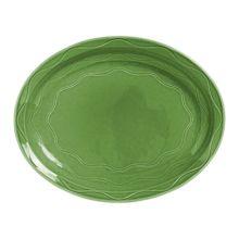 "Syracuse China 903035615 Cantina Sage 9.63"" Platter - 12 / CS"