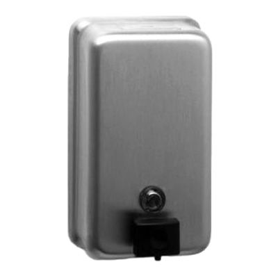 Bobrick B-2111 Surface Mounted 40 Oz. Vertical Soap Dispenser