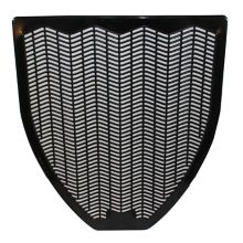 Impact® Z-Mat™ Black Urinal Mat in Fresh Blast Scent