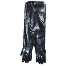 Ansell 9-430/212471 Neoprene Black Shoulder Length Gloves - Pair