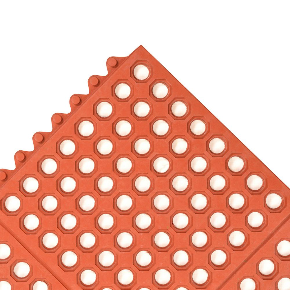 Notrax 993-597 Ultra Mat® 3' x 5' Red Floor Mat