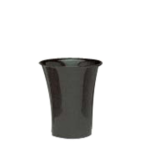"Floralware 610FS Black 10 x 9"" Bucket - 6 / CS"