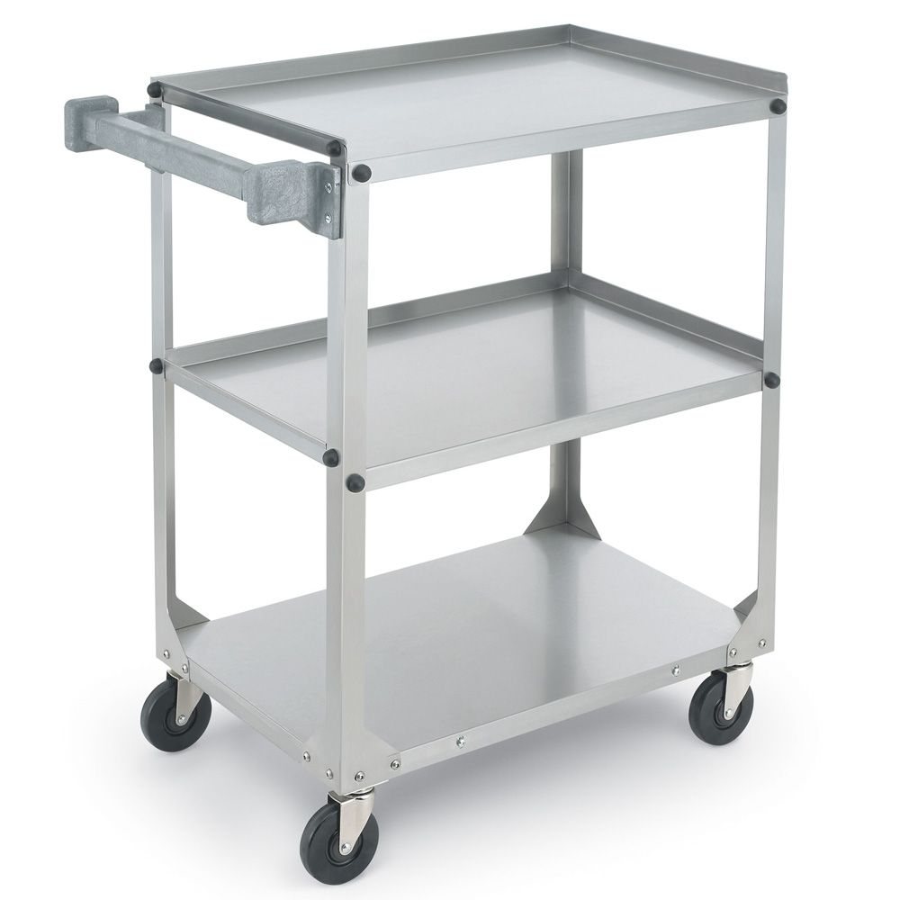 Vollrath® 97320 Knocked-Down Stainless Steel Utility Cart