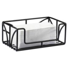 Cal-Mil 808-13 Table Top Black Powder Coated Wire Paper Towel Holder