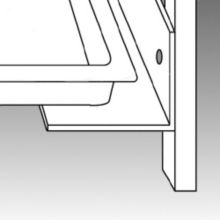 Traulsen GSACC-UVTS Set of Two Universal Tray Slides