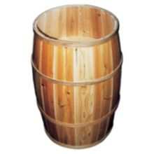 Bradbury Barrel 2030DB/2B Wooden Peanut Barrel