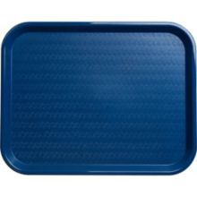 Carlisle® CT141814 Blue Cafe® Standard Tray - Dozen