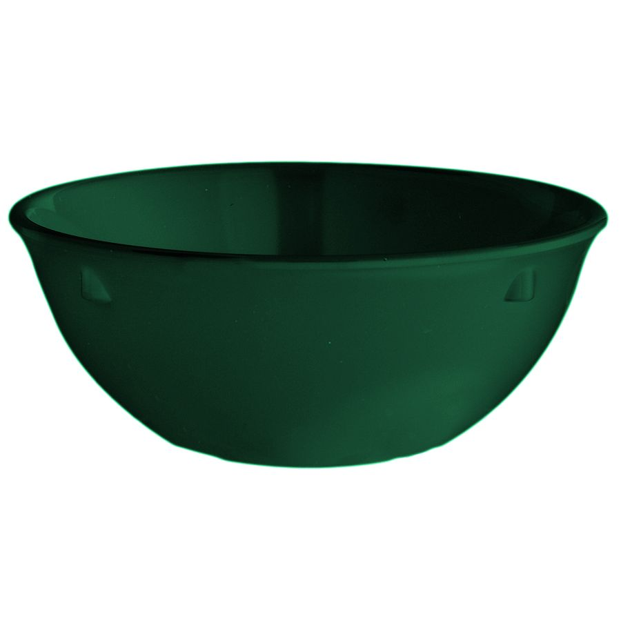 G.E.T. DN-315-HG SuperMel Hunter Green 15 Oz. Nappie Bowl - 48 / CS