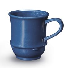 G.E.T. TM-1208-TB Texas Blue 8 Oz. Coffee / Soup Mug - 24 / CS