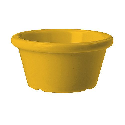 G.E.T. S-620-TY Mardi Gras Tropical Yellow 2 Oz. Ramekin - 48 / CS