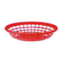 "G.E.T. OB-734-R Red Polypropylene 8"" x 5.5"" Basket - Dozen"