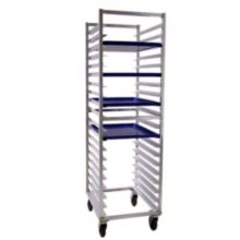 New Age Industrial 7331 Aluminum 20 Pan Rack with Angled Guides