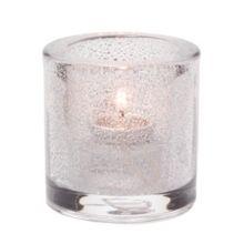 Hollowick® 5140CJ Clear Jewel Thick Glass Tealight Lamp