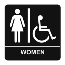 Kroy 2385209 Women's Restroom Sign