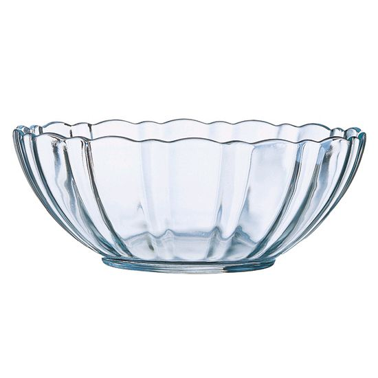 Arcoroc 43830 Arcade Tempered Glass 48 Oz. Bowl - 12 / CS
