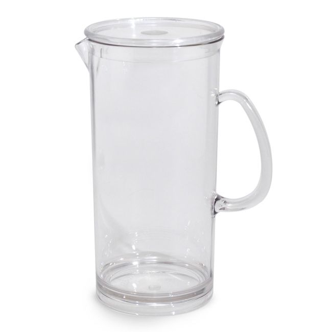 Tango Product A90106CC Clear 60 Oz. All Purpose Pitcher With Lid