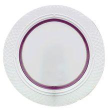 "Homer Laughlin 3391684 Amethyst 10.58"" Plate - 12 / CS"