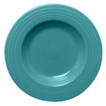 Homer Laughlin 462107 Fiesta Turquoise 21 oz Pasta Bowl - 12 / CS