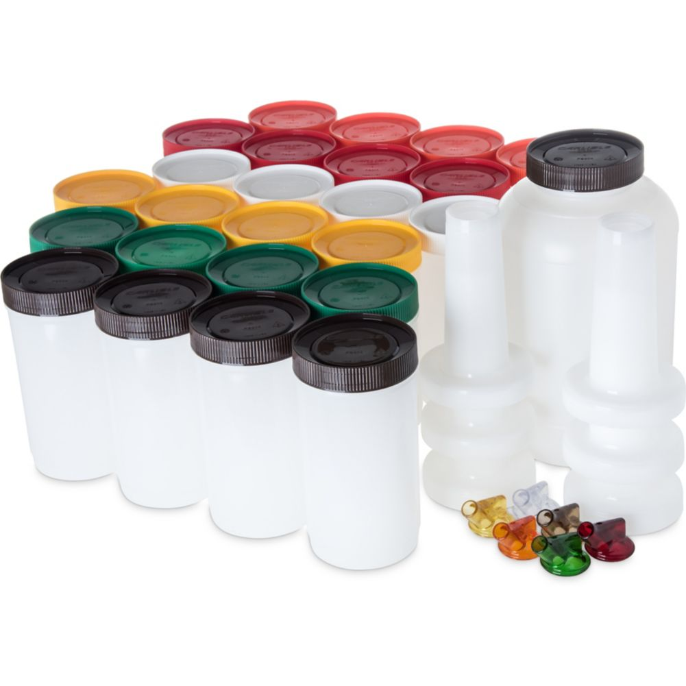 Carlisle® PS601200 Stor 'N Pour Assorted Bar Service Pack