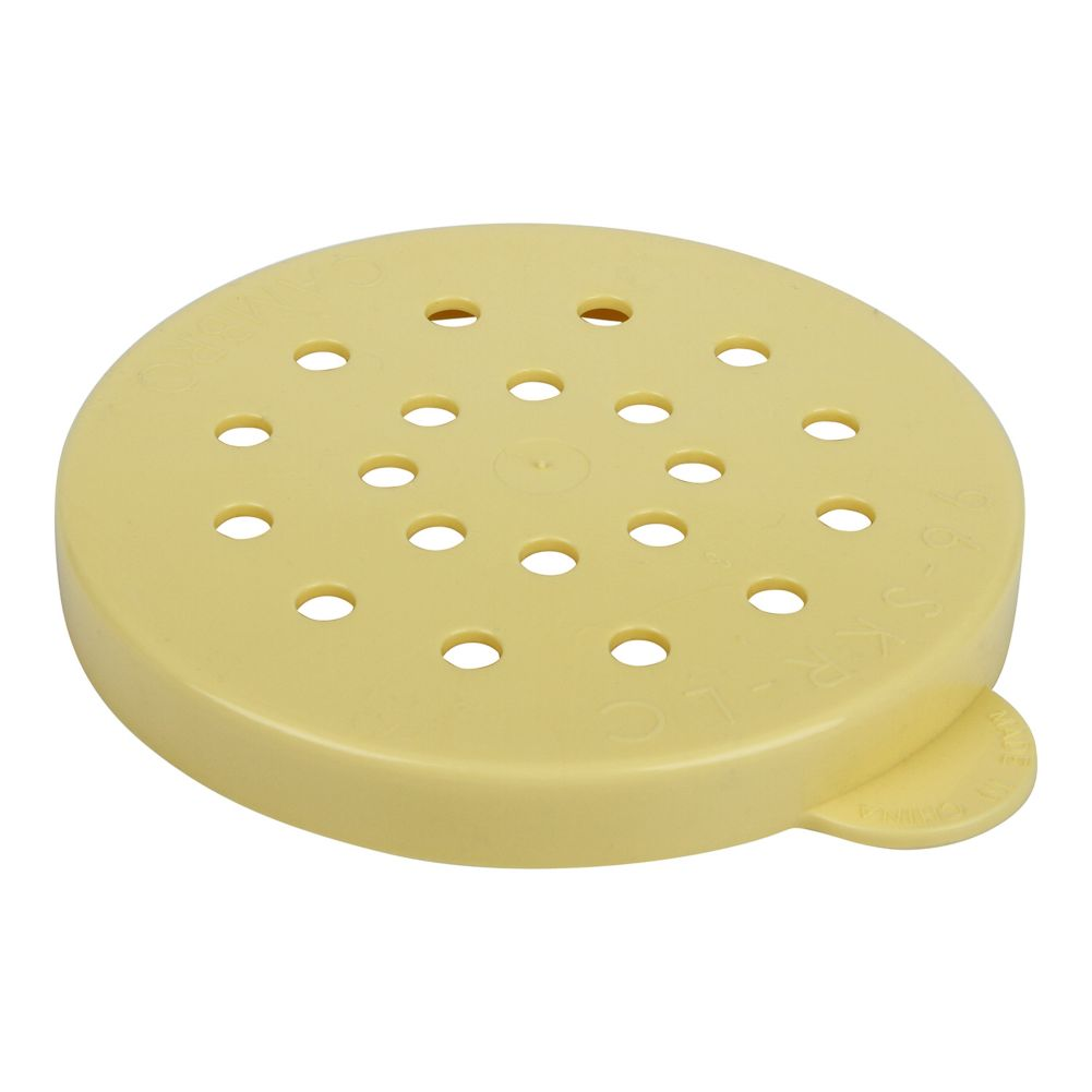 Cambro 96SKRLC405 Yellow Cheese Lid for Shakers