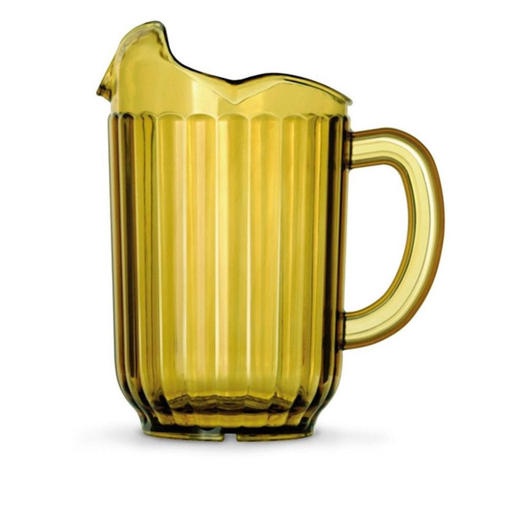 Traex 6010-16 Amber 60 Ounce 3 Lipped Pitcher
