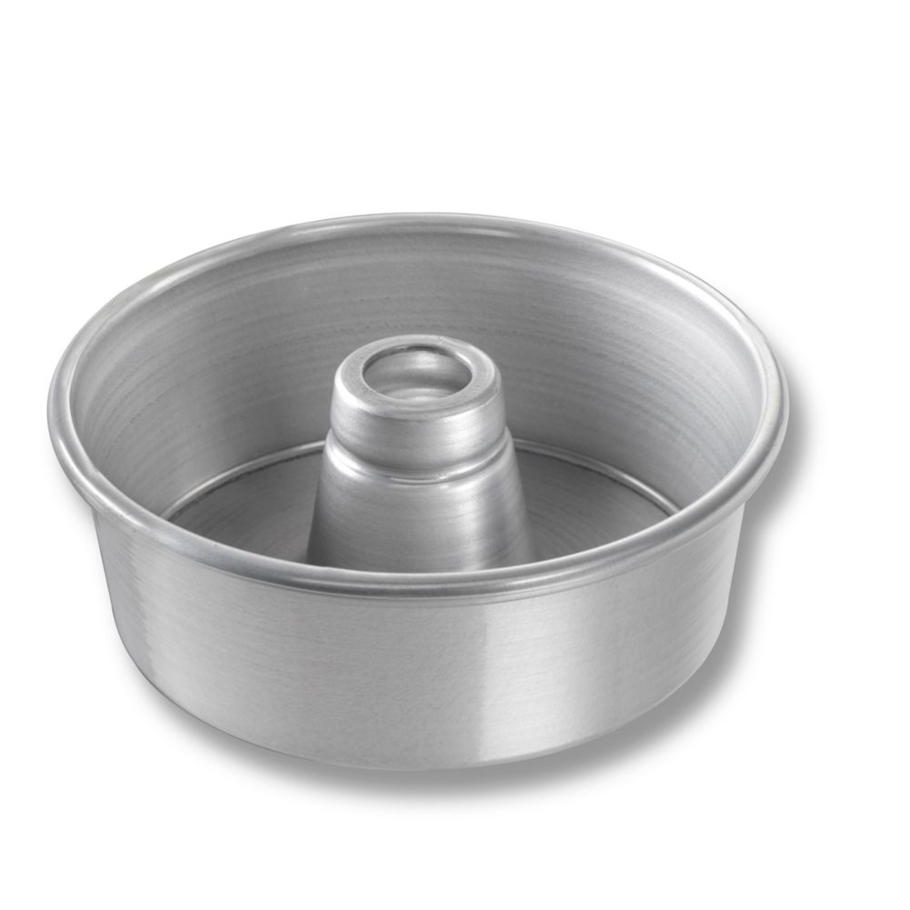 "Chicago Metallic 46505 Glazed 7-1/2"" Angel Food / Tube Cake Pan"
