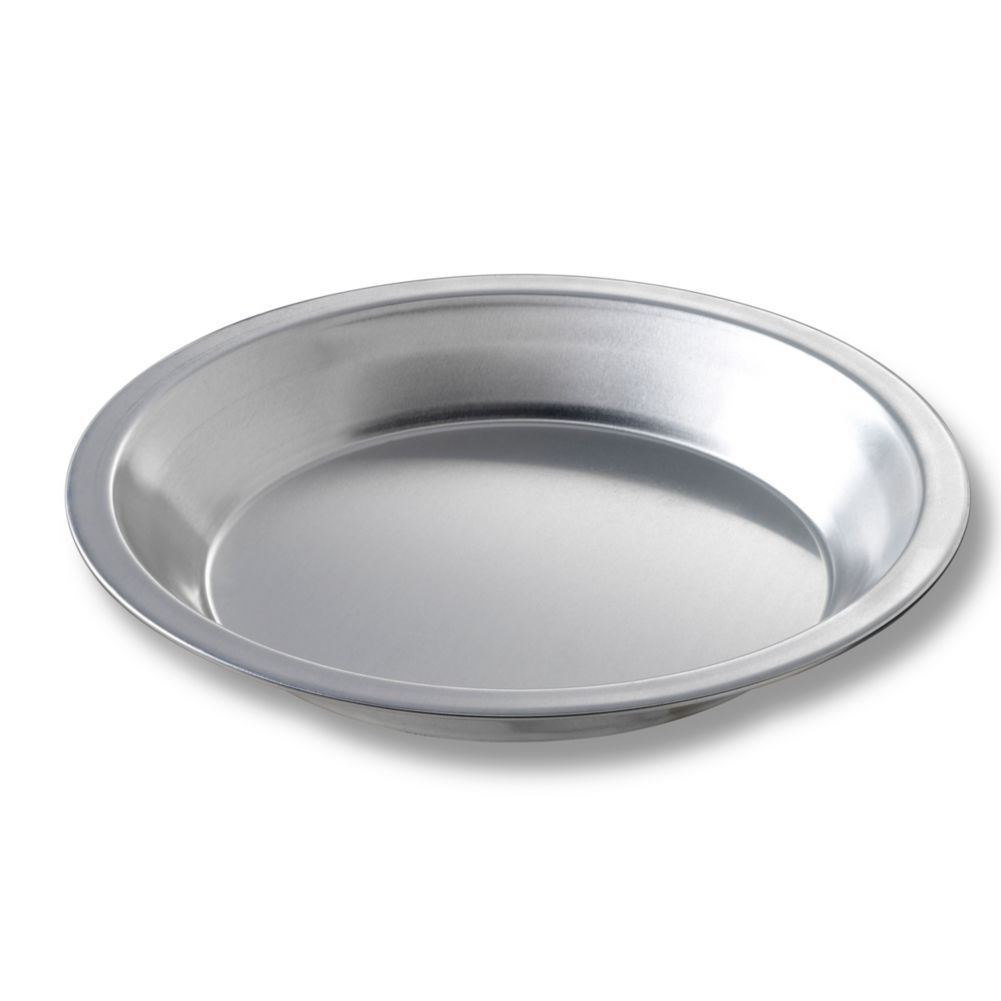 "Chicago Metallic 41509 Aluminum 7-15/16"" Pie Pan - Dozen"