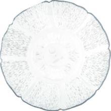 "Carlisle® 695407 Petal Mist 7-1/2"" Clear Plate - Dozen"