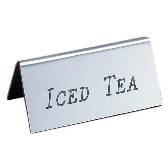 Cal-Mil 228-5-010 Iced Tea Silver Beverage Tent