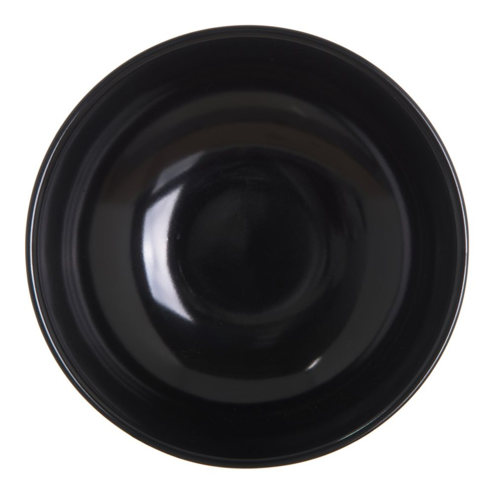 Carlisle® 500B03 8 Oz. Black Salad Bowl - Dozen