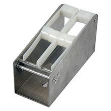 """DayMark 110804 Metal 1"""" 2-Slot Label Dispenser"""