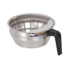 BUNN® 20217 Stainless Steel Funnel Assembly with Black Handle