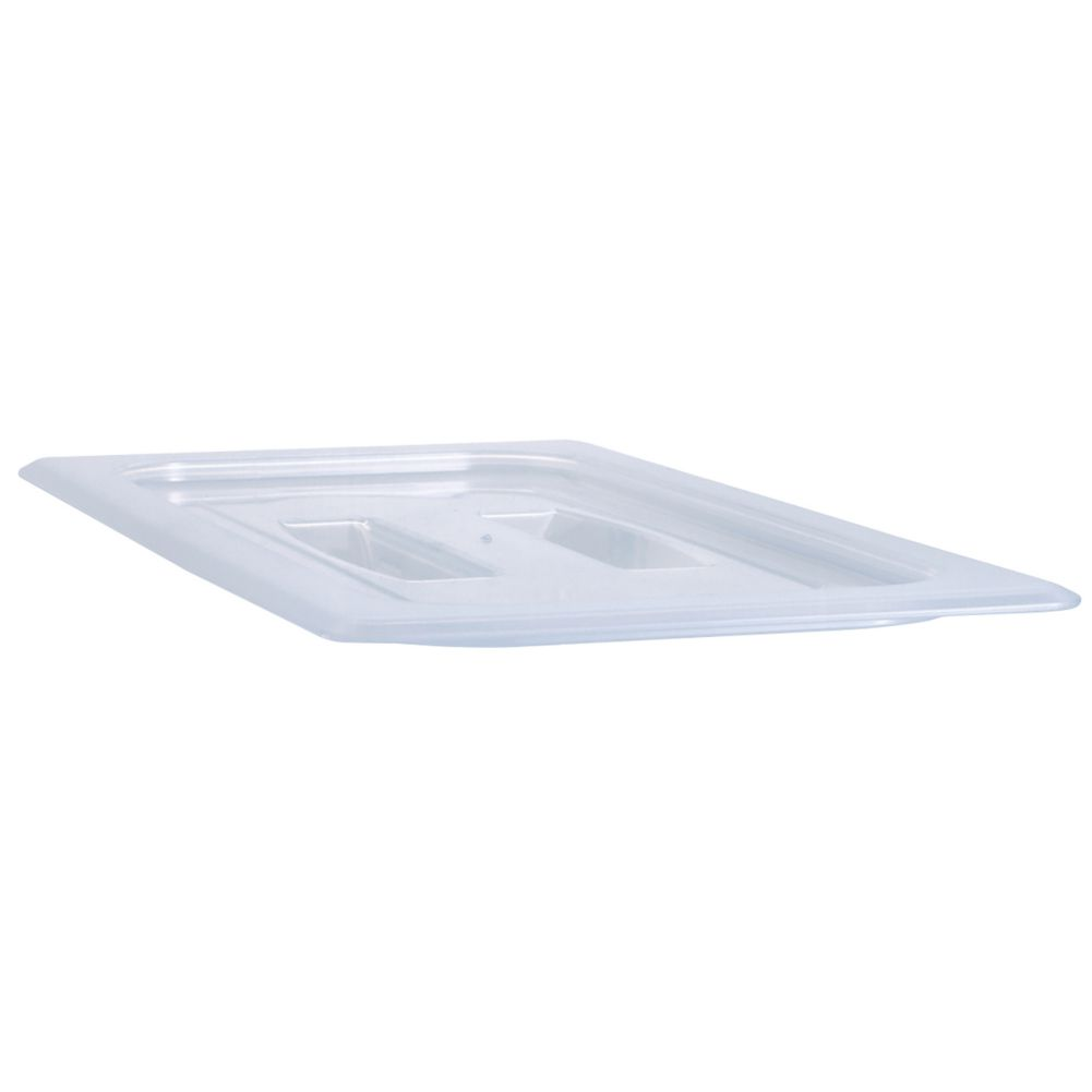 Cambro® 20PPCH190 Translucent Half Size Food Pan Cover with Handle