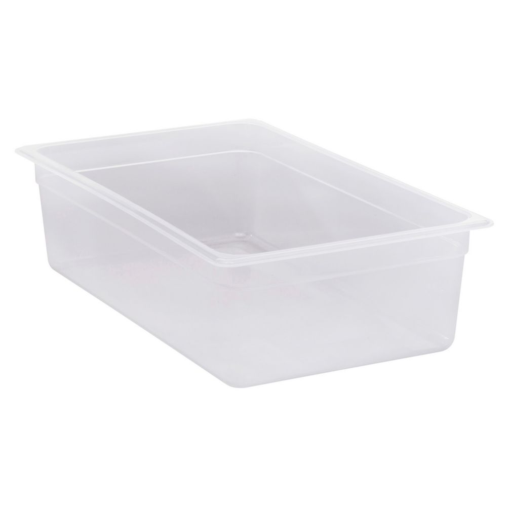 "Cambro® 16PP190 Translucent Full Size x 6"" Deep Food Pan"