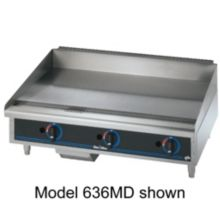 "Star® 615MF Star-Max® 15"" Manual Gas Griddle"