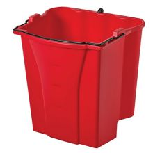 Rubbermaid® FG9C7400RED WaveBrake® 18 Quart Dirty Water Bucket