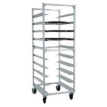 """New Age NS893 Aluminum Oval Tray Rack for 22 x 26-7/8"""" Trays"""