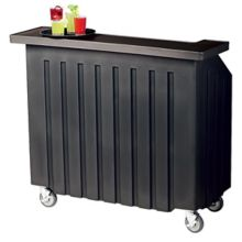 Cambro® BAR540110 CamBar® Black Small Portable Beverage Bar
