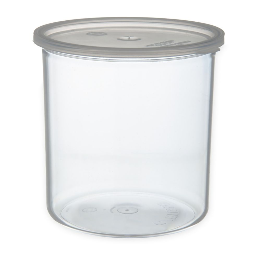 Carlisle® 30207 Classic™ 2.7 Qt. Clear Crock with Lid