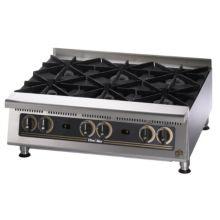 """Star® 806HA Ultra-Max® 36"""" Standard Gas Hot Plate"""